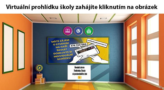 Virtuální prohlídka školy